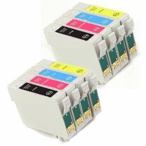 8 x T0715 (T0711 T0712 T0713 T0714) Comp COMPATIBLES Printer Ink ...
