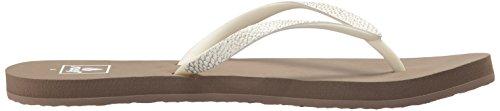 Reef Womens Stargazer Sassy Sandal Taupe Grey