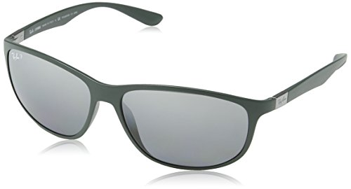 Ray-Ban Men POLARIZED Silver Mirror RB 4213 61258261mm by Ray-Ban