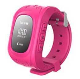Q50 Anti-lost GPS Tracker Wrist Watch with SOS Call Location Finder SIM Card Low Radiation Pedometer Smart Watch for Kids And Elder Rosy