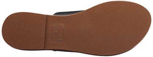 Sandal Soludos Slide Women's Black Sandal Flat Braided 1wvq4