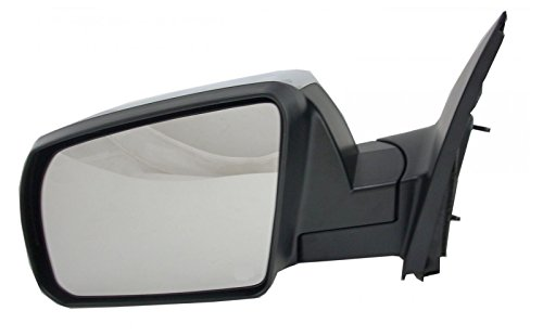 Side View Mirror Manual w/Chrome Cap Driver Left LH for Toyota Tundra Sequoia - Toyota Tundra Mirror Lh Driver