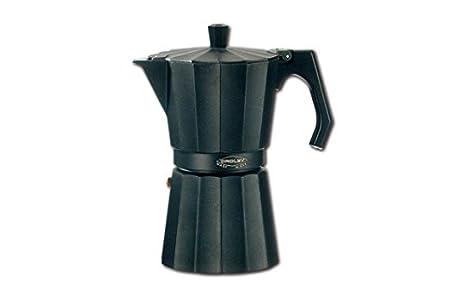 Oroley New Dakar - Cafetera (Negro, Estufa, Aluminio, De café molido,