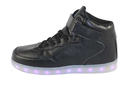ATS Unisex LED Shoes Breathable Sneakers Light up Shoes,SM-6151,13