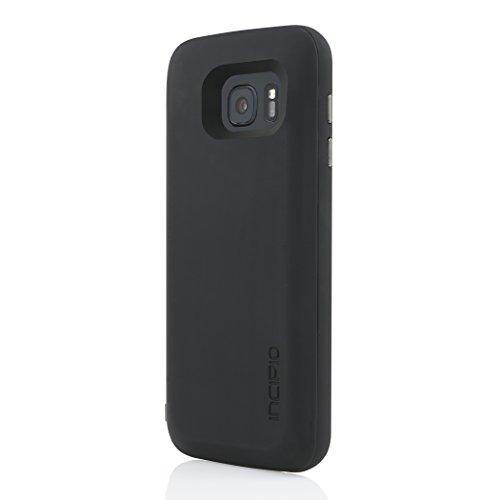 Incipio SA-775-BlK Case for Samsung Galaxy S7, Retail Packaging, Black