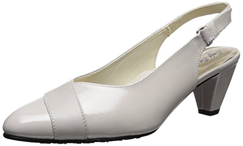 Cloud Kid Hush Puppies Dagmar Women's Shoes Silver Patent SrwXYqZw