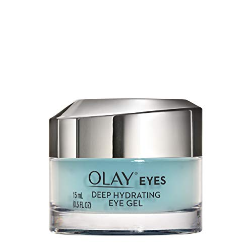 Eye Serum Gel And Cream - Olay Deep Hydrating Eye Gel with Hyaluronic Acid for Tired Eyes, 0.5 fl oz