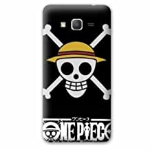 Back cover case replacement Samsung Galaxy Grand Prime Manga - One piece - - skull head N -