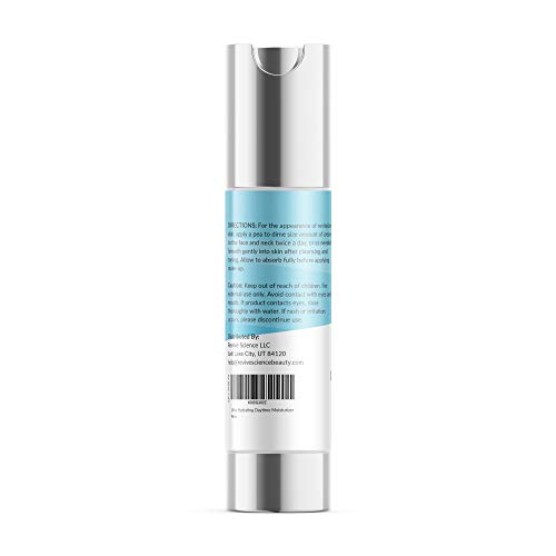 31gPTYlumNL - Revive Science Ultra Hydrating Daytime Ageless Moisturizer for Face, Eyes & Neck to Reduce Appearance of Wrinkles & Fine Lines, Brighten Skin Tone & Increase Collagen for Men & Women, 1 oz