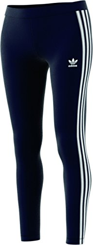 adidas Originals Women's Bottoms 3 Stripes Leggings, Legend Ink, Medium Adidas Clothes
