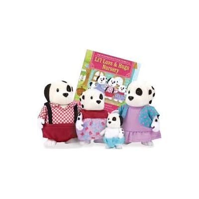 Li'l Woodzeez Woofwinkle Dog Family: Toys & Games