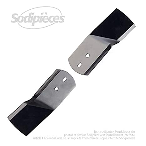 Juego de cuchillos para cortacésped y Viking Stiga-16,8 cm: Amazon ...