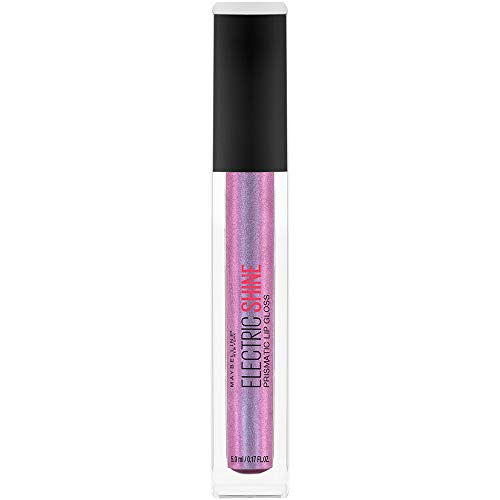 Maybelline Lip Studio Electric Shine Prismatic Lip Gloss Makeup, Lunar Gem, 0.17 fl. ()