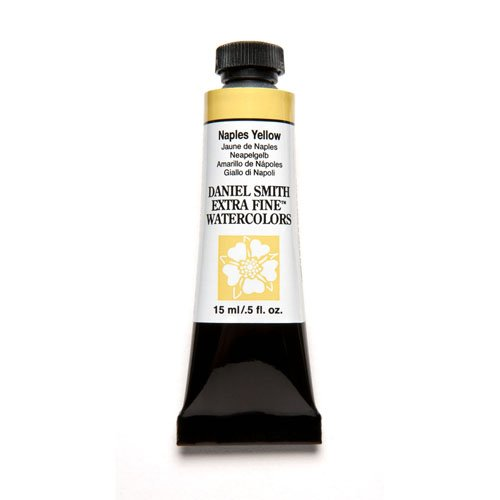 DANIEL SMITH Extra Fine Watercolor 15ml Paint Tube, Naples Yellow (Naples Yellow Tube)