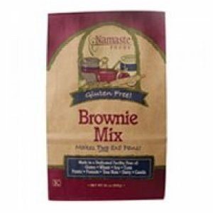 Namaste Brownie Mix 30 OZ (Pack of 18) by Namaste Foods
