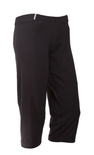Reebok Womens Capri Pants Trousers 3 4 fitness sports training bottoms yoga  workout running for women ladies Black Size XL  Amazon.co.uk  Sports    Outdoors 0f8869da7