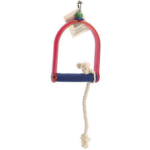 Polly's Sand Walk Arch Bird Swing, Small by Polly's