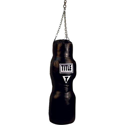 Title Mma Training - TITLE MMA Grappling Dummy Heavy Bag, Black, 100 lbs