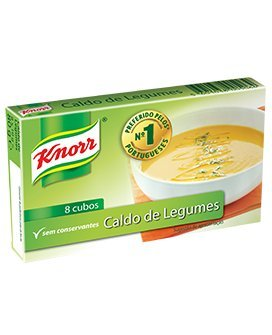 Knorr Vegetable Bouillon Cubes 8 Pack 80 grams Stock Cubes Rice Seasoning Mix No Preservatives
