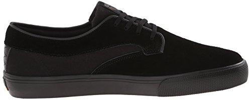 LAKAI Skateboard Shoes RILEY HAWK BLACK/BLACK