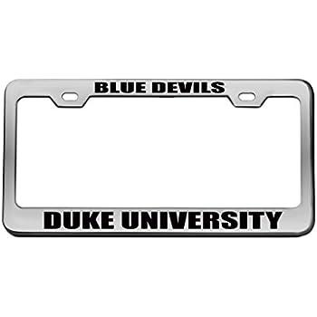 Amazon.com: BLUE DEVILS DUKE UNIVERSITY Sports Team Chrome License ...