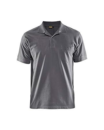 Blaklader trabajo de perfil para hombre Polo Shirt - 3305, gris ...