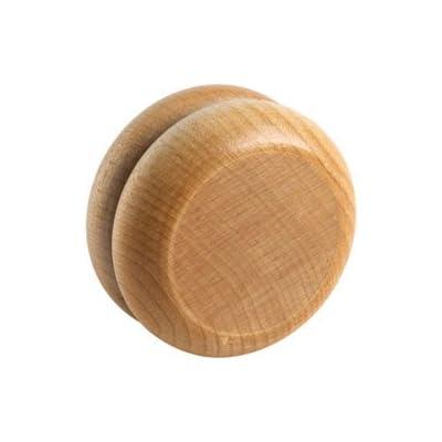 Plain Wooden Yo-Yo - Made in USA: Toys & Games