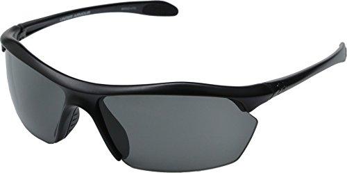 Under Armour Unisex Zone XL Satin Black/Gray Sunglasses
