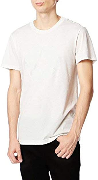 New G-Star Raw Mens T-Shirt Round Neck in White Colour Size XL