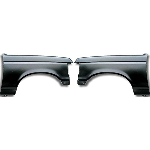 Fender for 1987-1991 Ford Bronco Set of 2 Steel Primed Front Left and Right Side ()