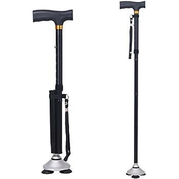 Amazon Com Dubulu Walking Cane Folding Cane For Men