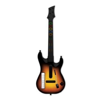 Guitar Hero Wireless Guitar for Wii, Compatible with Guitar Hero 1,2,3,5 and Guitar Hero World Tour