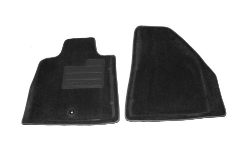 Lund 6064449 Catch-All Black Front Floor Mat - Set of 2