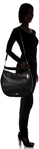 Black Natural Women's COACH Li Hobo Calf Nomad 6vY6xnW4q7