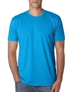 Blend T-shirt Polyester - Next Level Mens Premium Fitted CVC Crew Tee N6210 -TURQUOISE M