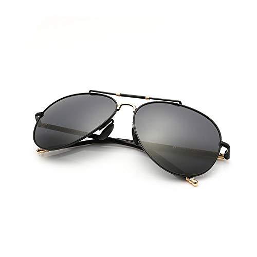 Negro Oro ZYZHjy De Polarizadas Negro Oro Gafas Hombres Sol FFrUqx80