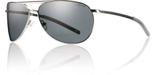 Smith Optics Serpico Slim Sunglasses (Gunmetal Frame w/Gray Polarized ()