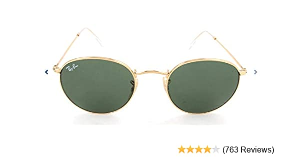 Ray-Ban RB3447 Round Metal Sunglasses