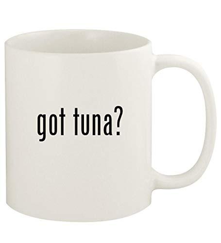 got tuna? - 11oz Ceramic White Coffee Mug Cup, White