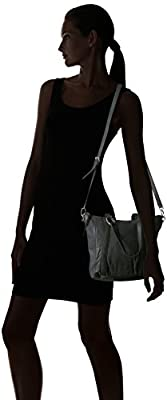 Liebeskind Berlin Women's Ginaw7 Leather Satchel with Ring Detail