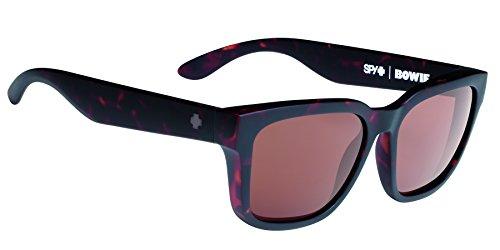 Spy Optic Bowie Flat Sunglasses, Matte Camo Tortoise, 56 - Spy Tortoise Sunglasses
