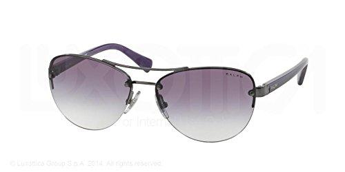 Ralph Lunettes de soleil RA 411330678h Gris Violet Corne 56–14–135