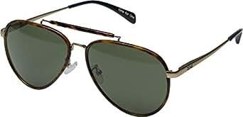 TOMS Men's Maverick 401 Honey Tortoise Wrap Sunglasses