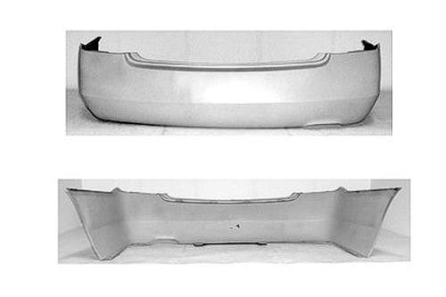 CPP Primed Rear Bumper Cover Replacement for 2002-2006 Nissan Altima