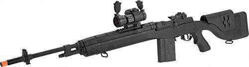 Evike - G&P M14 DMR Custom Airsoft AEG Sniper Rifle w/Red Dot Scope (Package: Black/Gun Only)