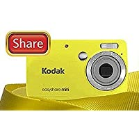 Kodak Easyshare Mini M200 10 Mp Digital Camera with 3x Optical Zoom and 2.5-inch LCD - Yellow