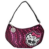 Monster High Lace Hobo Bag - Black and Pink
