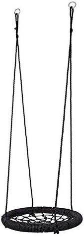 子供のスイングシートクモの巣スイングチェアラウンドカラスの巣直径60 Cmで子供の日のギフト(屋外)