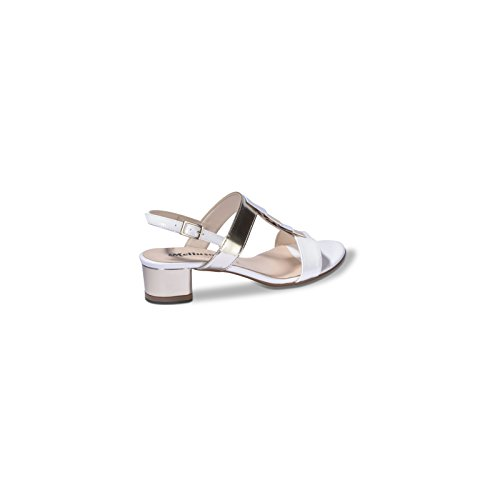 Melluso K35074 4 Tacco 5 cm Donna con Sandalo Bianco OOxRZw1qr