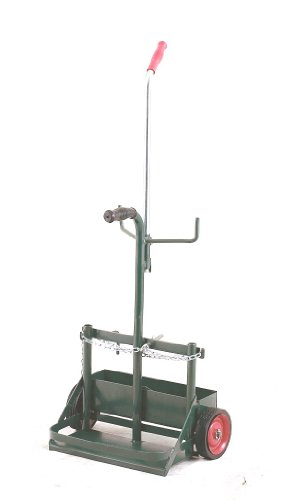 Harper Trucks 861-20 Porta-Cyl Welding Cylinder Carrier and Hand Truck Small Cylinder Cart